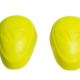 accessori moto saponette ginocchia giallo fluo
