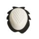 accessori moto saponetta ginocchio bianco asola