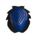 accessori moto saponetta ginocchio blu uncino