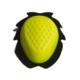 accessori moto saponetta ginocchio giallo fluo uncino