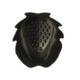 accessori moto saponetta ginocchio nero asola