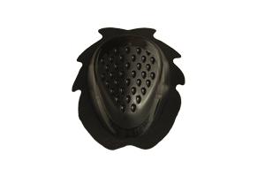 accessori moto saponetta ginocchio nero uncino