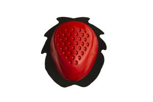 accessori moto saponetta ginocchio rosso uncino